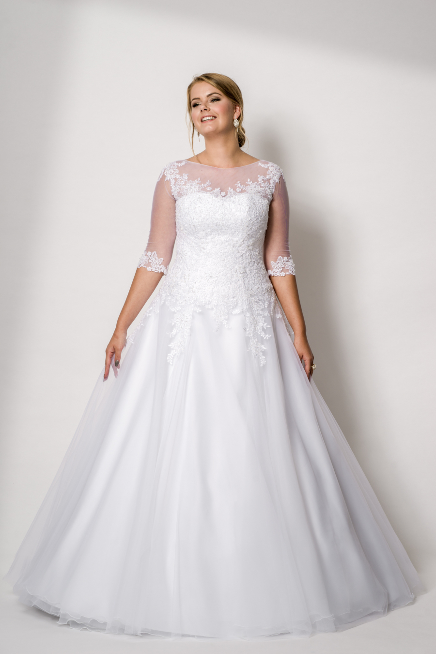 plus size wedding dress Anastasie