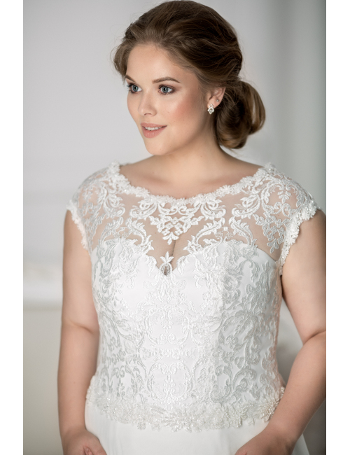 plus size wedding dress Olympia