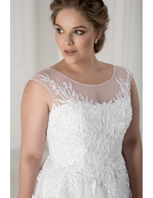 plus size wedding dress Madeira