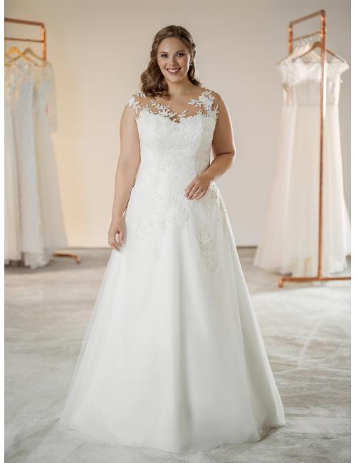 plus size svatební šaty Nelly