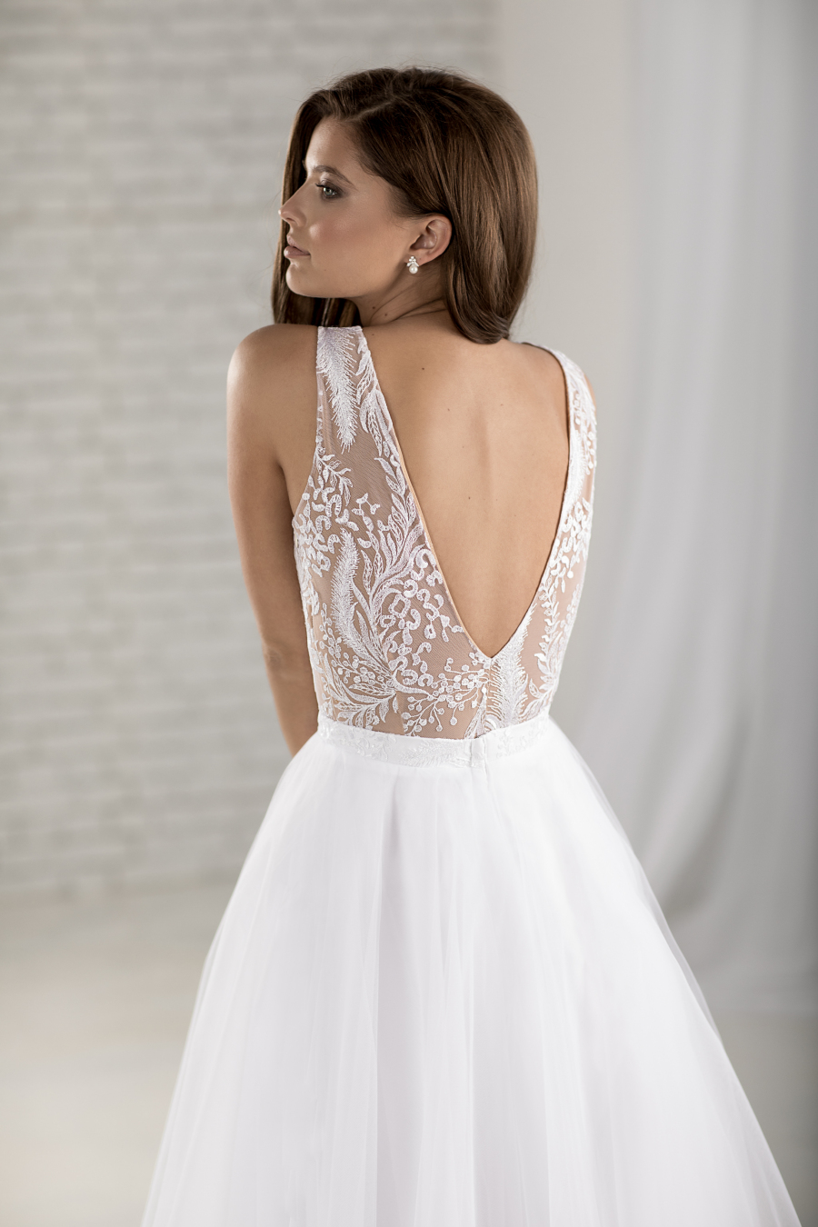 krátké svatební šaty Miami