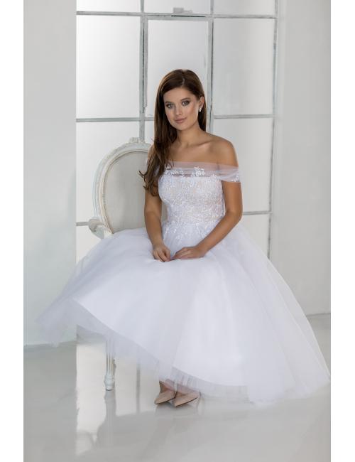 midi wedding dress Havana