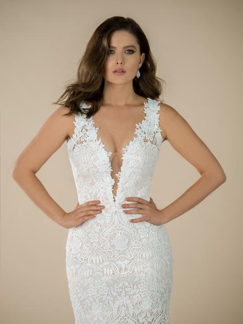 svatební šaty Jordann
