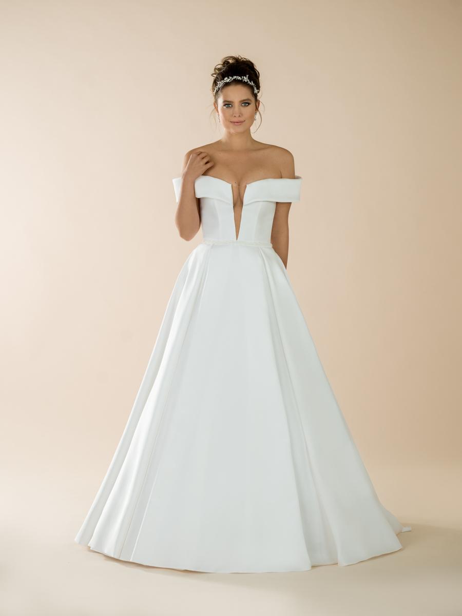 svatební šaty Audrey