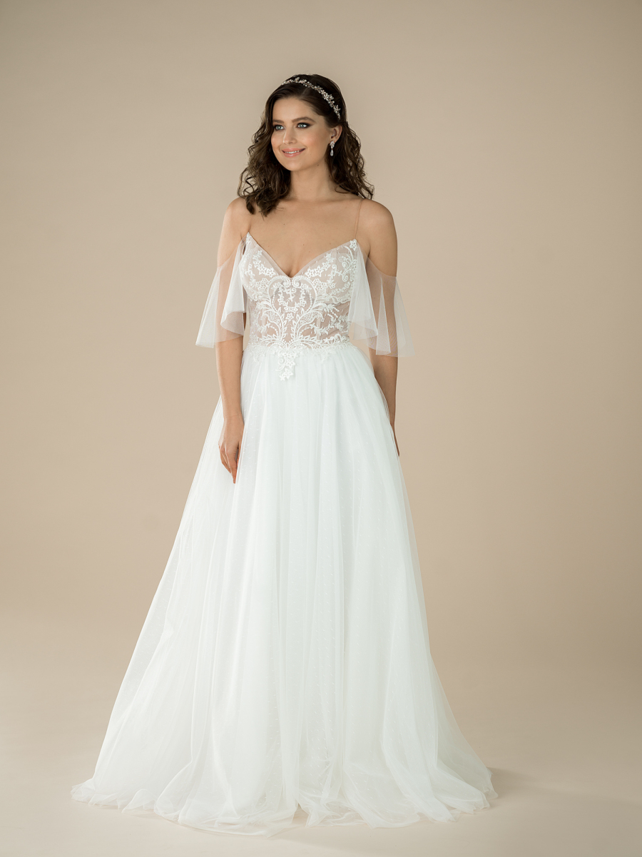 romantic wedding dress Melodie
