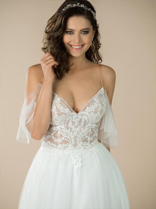 romantické svatební šaty Melodie