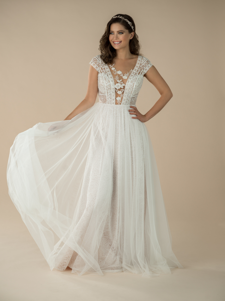 boho wedding dress Daisy