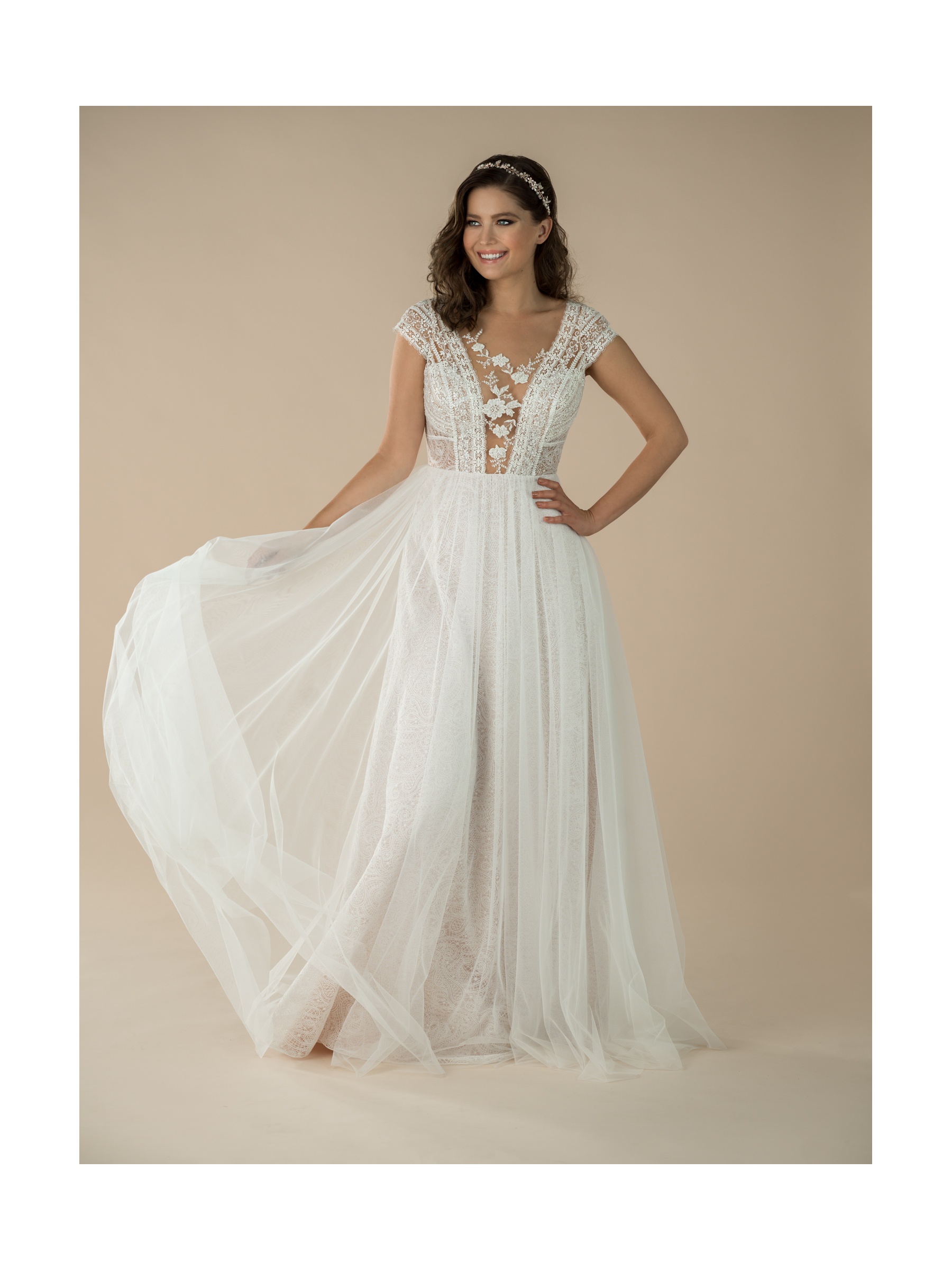 boho svatební šaty Daisy