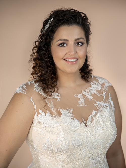 plus size wedding dress Amira