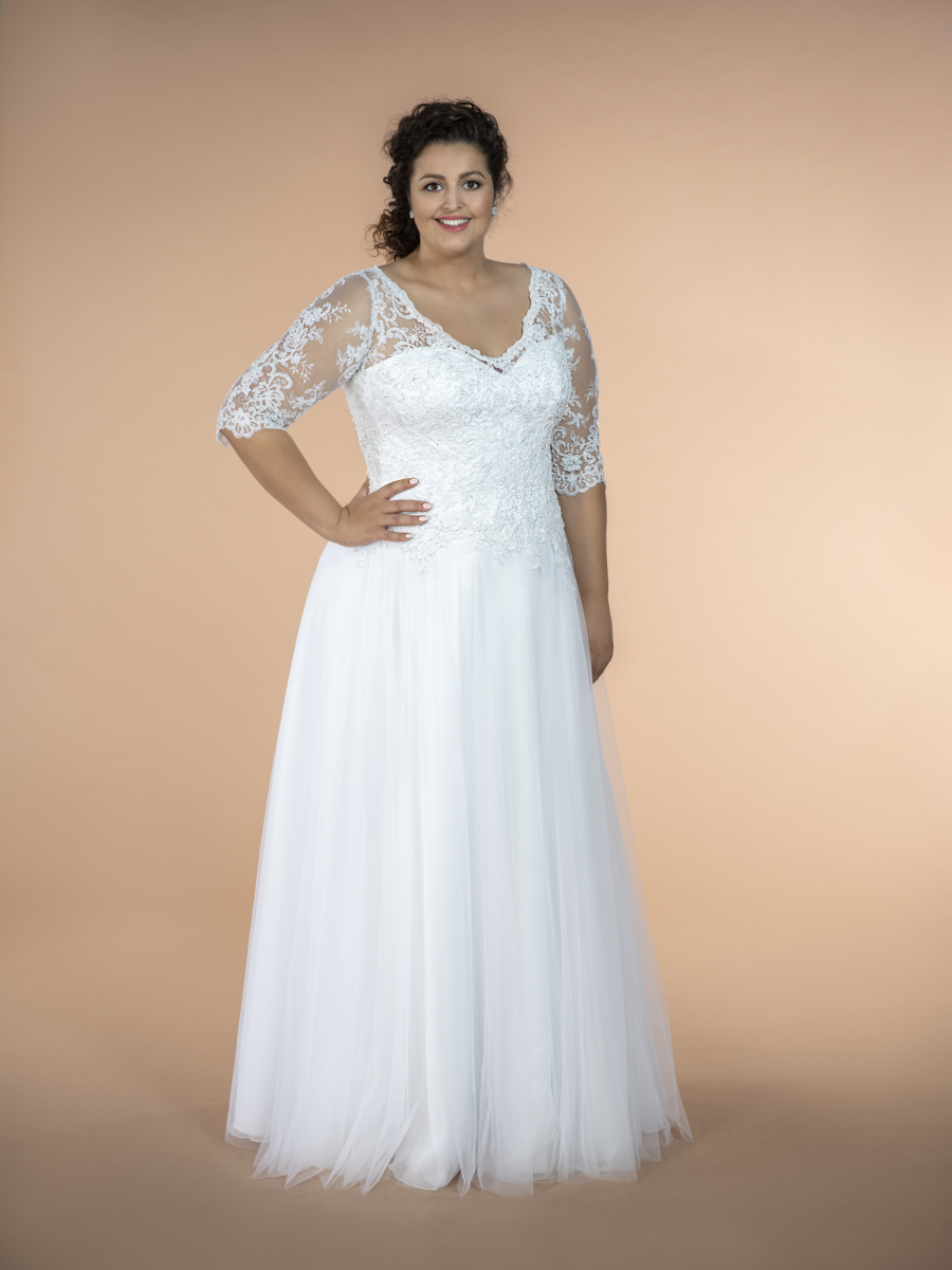 plus size wedding dress Camila