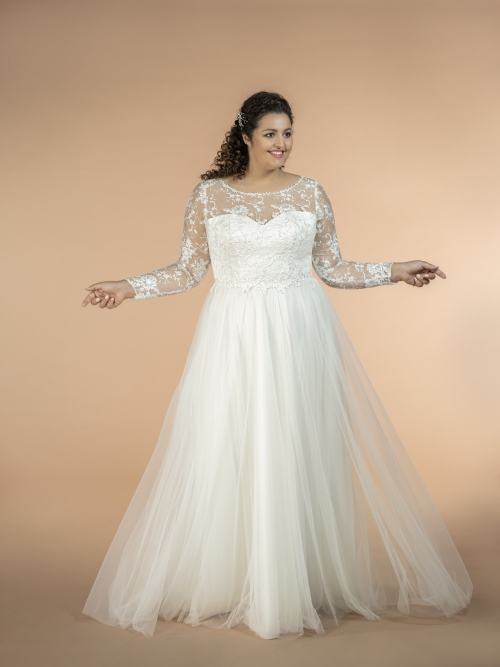 plus size wedding dress Jasmine