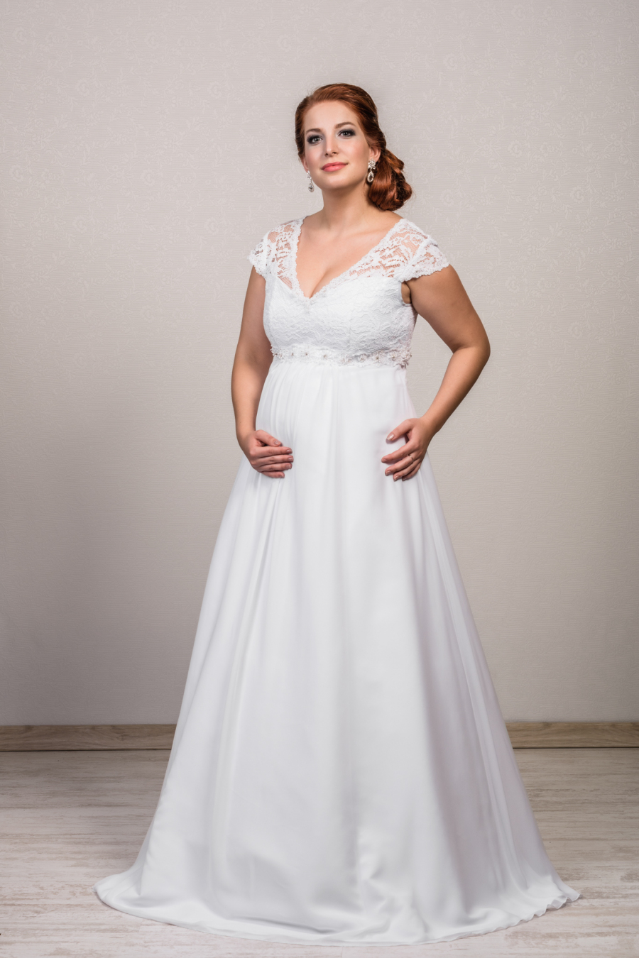 maternity wedding dress 1506