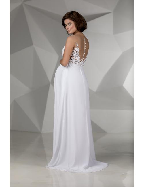 těhotenské svatební šaty Carolina