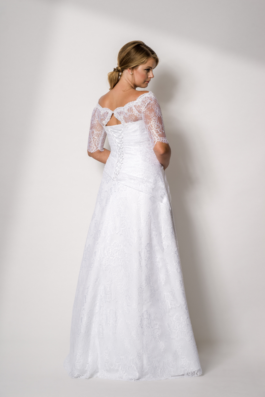 plus size wedding dress Ina