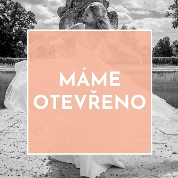Je to tady!💕  Drahé nevěsty, od dnešního dne pro vás opět otevíráme dveře našeho svatebního ateliéru Madora v Mikulově. 💕  Pro informace o termínech šití a zkoušení svatebních šatů můžete volat také na 📱+420 607 703 444. 💕  Těšíme se na vás💕!  #svatebnisaty #otevreno2021 #znovuotevreni #weareopen #svatba2021 #svatebnisatynamiru #nevesta2021 #zkousenisatu #satyceskevyroby ##šitínamíru